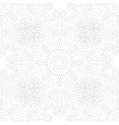 Mandala swirl seamless background vector