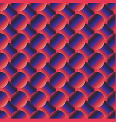 retro purple color circle pattern vector image