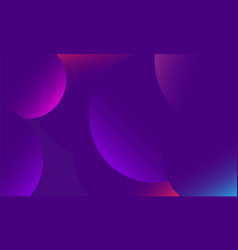 trendy backgroundcomposition with round gradient vector image