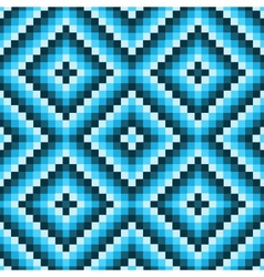 pixel modern geometric seamless pattern ornament vector image vector image