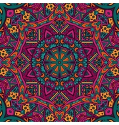 ethnic tribal seamless pattern ornament vector image