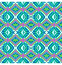 Pattern with bold stylized Indian motifs vector image