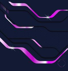 Abstract modern dark metallic background sci-fi vector