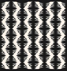 Elegant monochrome geometric seamless pattern vector