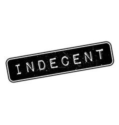 Indecent rubber stamp vector