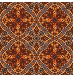 intricate seamless ethnic tribal pattern vector image vector image
