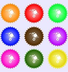 Loader Icon sign Big set of colorful diverse vector