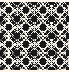 Monochrome ornament seamless pattern with flowers vector