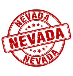Nevada stamp vector