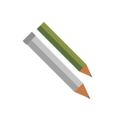 Pencil isolated vector image
