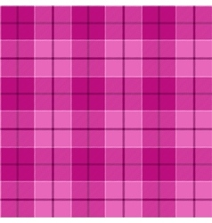 Pink tartan seamless pattern vector