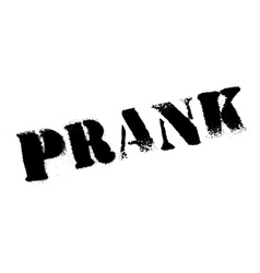 Prank rubber stamp vector