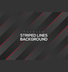 Premium abstract red striped lines vector