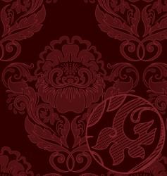 Rococo background vector