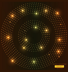 abstract light circle backround 2 vector image