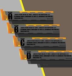 Black Modern Technology Design Template vector image vector image