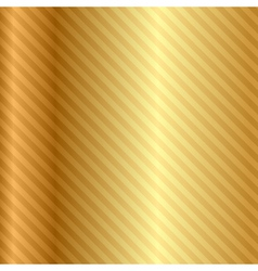 gold background with stripes vector image vector image
