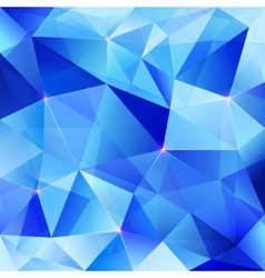 Blue abstract shining ice background vector image