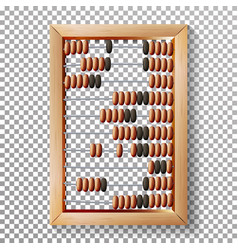 Abacus set realistic of vector
