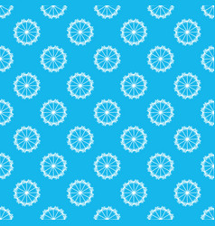 abstract geometric dandelion pattern background vector image
