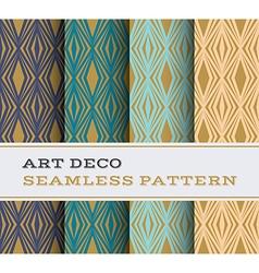 Art Deco seamless pattern 16 vector