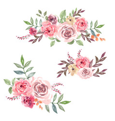 Bouquet card design for special occasion vector