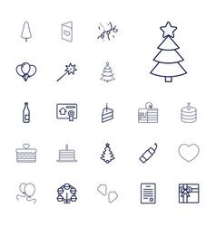 Celebration icons vector