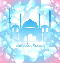 Colorful islamic background vector