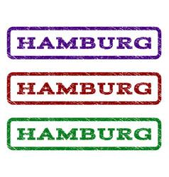 Hamburg watermark stamp vector