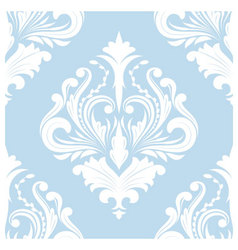 Pattern Blue Classic vector image vector image