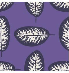 dieffenbachia ultra violet tropical leaf seamless vector image