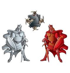 chess set kings vector image