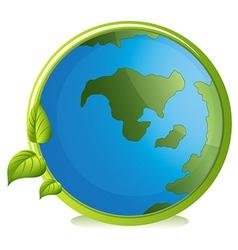 A globe vector