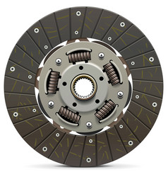 Car clutch disk vector