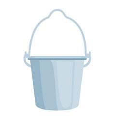 farm bucket isolated icon vector image