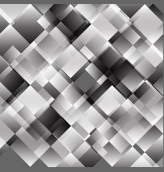 gray abstract background with geometric pattern vector image