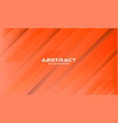 Orange abstract geometric background modern shape vector
