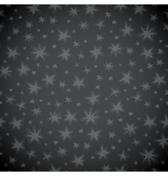 Simple Christmas snowflakes icon seamless pattern vector image