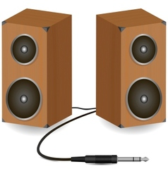 Stereo speakers vector image