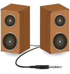 Stereo speakers vector
