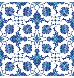 Traditional Arabic seamless ornament vector image