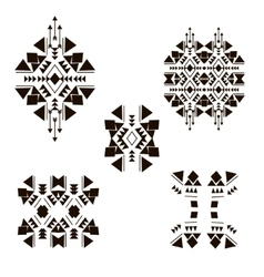 Tribal elements vector