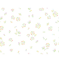 floral cute pattern vector image