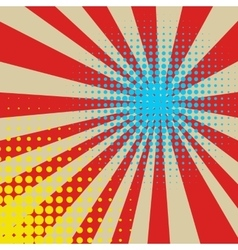 Multy color halftone background vector image