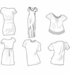 apparel vector image