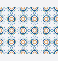 colorful seamless ornamental pattern vector image