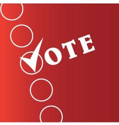 Voting Symbols vector image