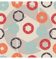 abstract seamless pattern shutter vector image