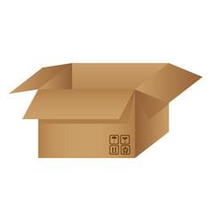 box open with symbols icon vector image