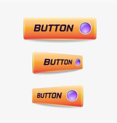 button web elements vector image